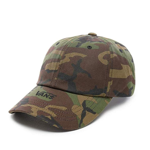 584f8ce4bd Vans Off The Wall MENS CAMO Curved Bill Dad Hat NWT